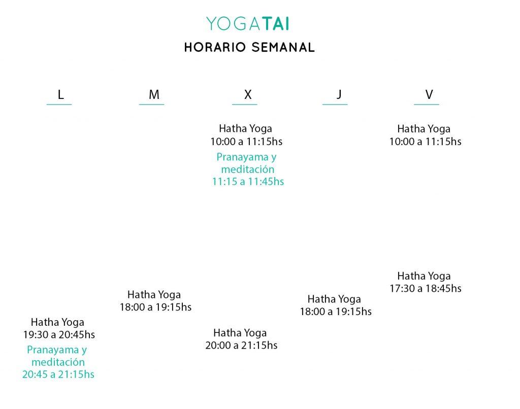 YOGA HATHA VINYASA HORARIOS PRECIOS BARCELONA CLOT