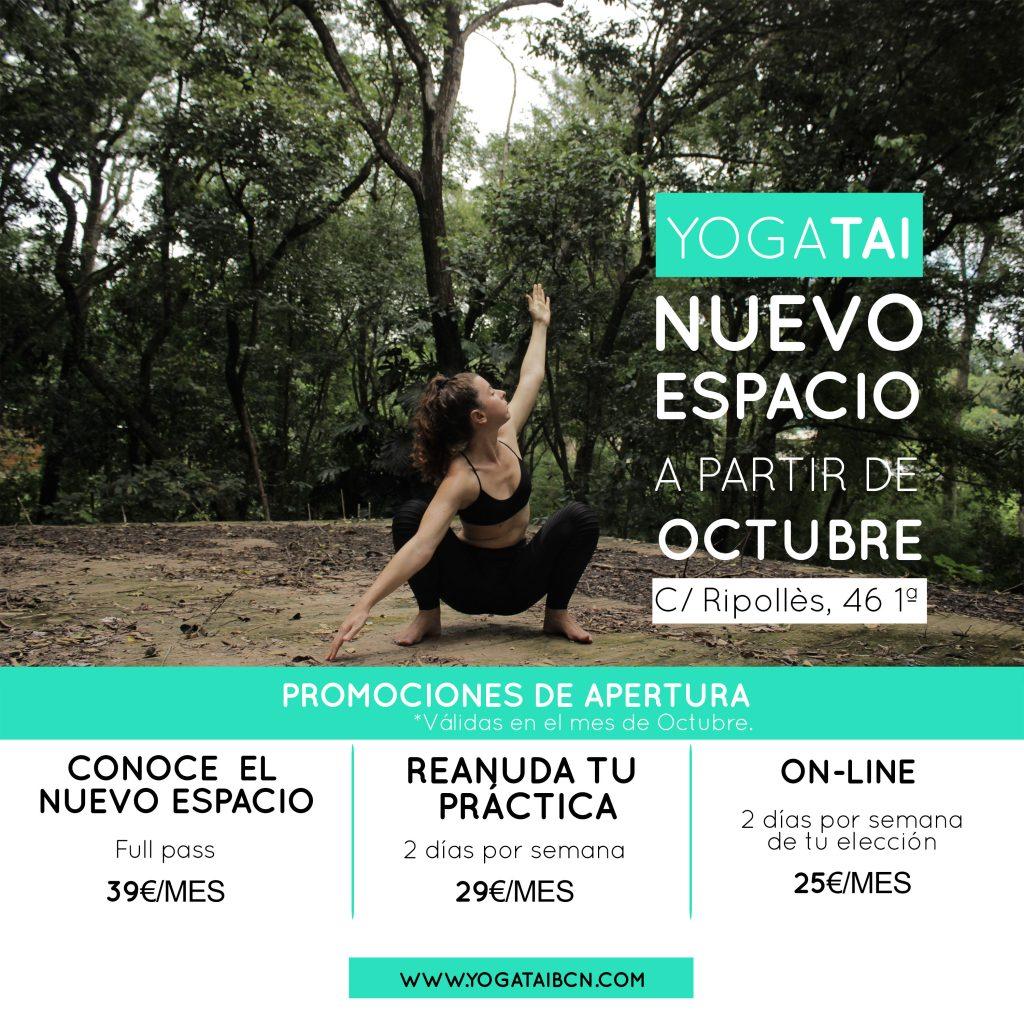 yoga hatha vinyasa clot barcelona meditacion